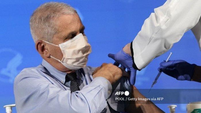 Dr Anthony Fauci Tegaskan AS Takkan Tunda Dosis Kedua Vaksin Covid-19 Tak Ingin Ikuti Jejak Inggris