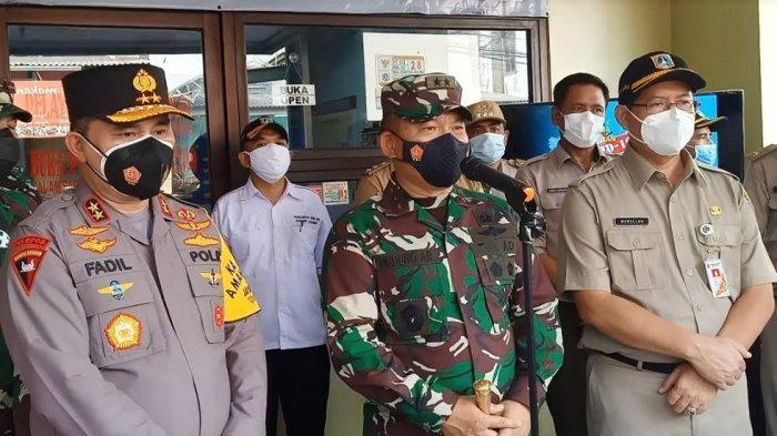 Pangdam Jaya & Kapolda Metro Pimpin Rapat Koordinasi Pelaksanaan PPKM Skala Mikro di Jadetabek