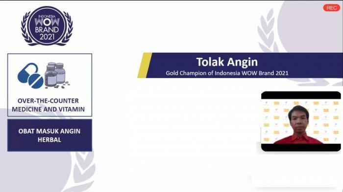 Tolak Angin & Kuku Bima capai Penghargaan Bergengsi di WOW Brand Festive Day 2021